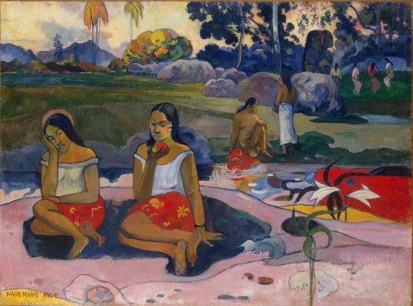 Gauguin Sacred Spring Sweet Dreams (Nave nave moe)