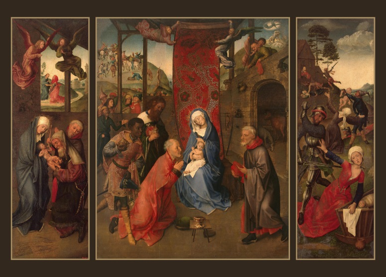 Goes Adoration of the Magi (Triptych)
