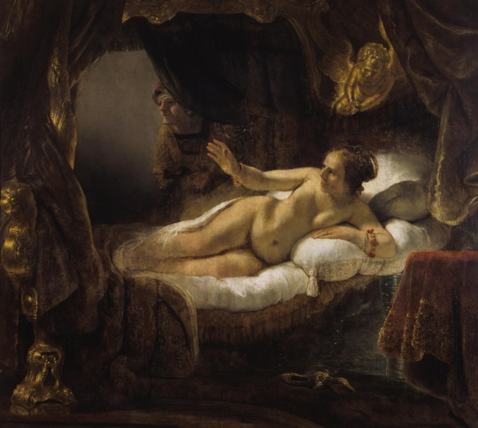 Rembrandt Danae