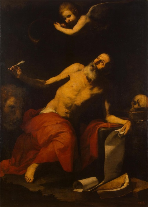 Ribera St Jerome and the Angel