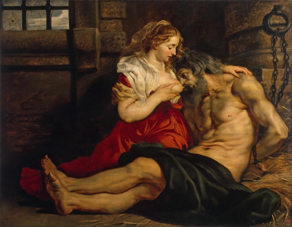 Rubens Roman Charity (Cimon and Pero)