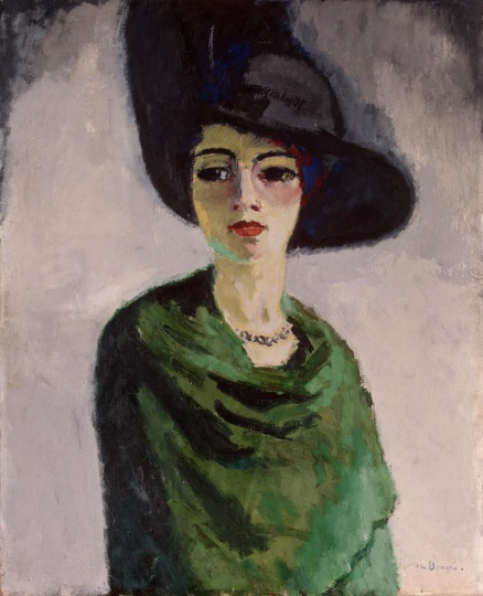 van Dongen Woman in a Black Hat