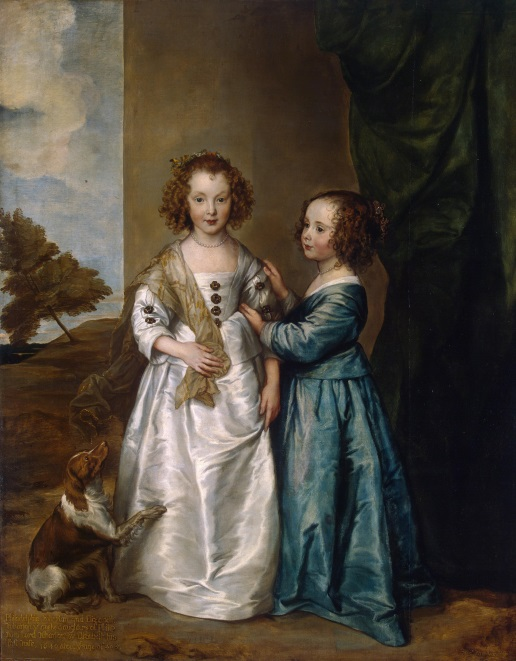 van Dyck Portrait of Elizabeth and Philadelphia Wharton